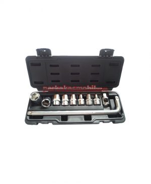 Socket set 11pcs pt6